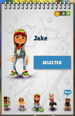 Subway Surfers: Jake